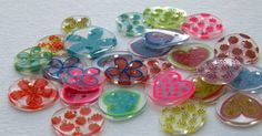 Colorful Shrink Plastic Buttons! - featuring Elmer's products - MASTER CRAFTSTERS