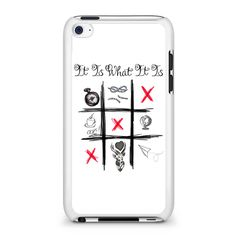 One Direction Louis Tomlinson Tattoos iPod Touch 4 Case