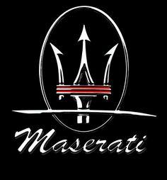 Maserati - Founded: Founder: Alfieri Maserati. The company's headquarters are now in Modena, and its emblem is a trident. Car Brands Logos, Car Logos, Logo Autos, Car Symbols, Maserati Car, Ferrari, Car Badges, Hood Ornaments, Love Car