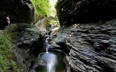 Watkins Glen State Park, New York.