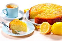 Lemon Syrup Cake Recipe: Moist, zingy and perfect to serve up with a cup of tea… You simply can't go wrong with this incredibly simple lemon drizzle cake recipe.- One of hundreds of delicious recipes from Dr. Lemon Syrup Cake, Lemon Drizzle Cake, Frosting Recipes, Cake Recipes, How To Stack Cakes, Rolling Fondant, Tree Cakes, Yummy Food, Delicious Recipes