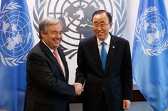 Guterres former Portuguese PM appointed UN secretary-general   The United Nations has appointed Antonio Guterres former prime minister of Portugal as the next secretary-general of the comity of nations.  Guterres will succeed Ban Ki-Moon as the worlds leading diplomat. on January 1 2017.  The 67-year-old believes his biggest challenge as the new UN chief will be to put an end to the raging civil war in Syria.  I believe it is the international communitys first priority is to be able to end…