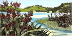 Kirsty Nixon New Zealand contemporary Landscape artist