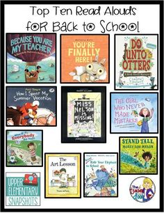 Ten great books for the first week of school!