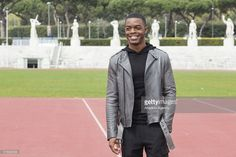 Actor Stephan James attends the 'Race' (Il Colore Della Vittoria) photocall at Foro Italico in Rome, Italy on March 21, 2016.