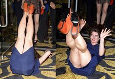 Gaby Hoffmann Upskirt Pussy Pantyless at HBO's Post 2016 Golden Globe Awards Party in Los Angeles.