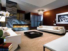 8' Custom Montigo Fireplace - contemporary - Living Room - Vancouver - Montigo Fireplaces