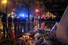 Facebook Twitter YouTube team up against terrorist propoganda     - CNET People stand in front of a makeshift memorial near the Bataclan concert hall in Paris on November 13 2016 as France marked the first anniversary of the Paris attacks. Photo by                                            Joel Saget/AFP/Getty Images                                          Three of the internets biggest social media sites are banding together to curb the rise of online terrorist content.  Facebook Twitter…