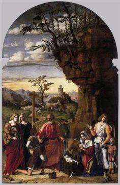 Adoration of the Shepherds - Cima da Conegliano
