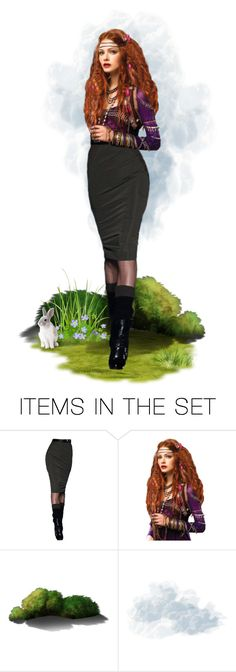 """""""Conversing with Nature"""" by my-time-is-now ❤ liked on Polyvore featuring art and modern"""