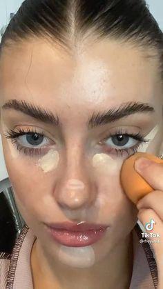 Freckles Makeup, Dewy Makeup, Glossy Makeup, Makeup Art, Cute Eye Makeup, Sweet Makeup, Makeup Looks, Ethereal Makeup, Stunning Makeup