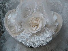 Victorian Inspired Western Bridal Hat - Western Wedding Hat - Women's Shantung Cowboy Hat