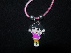 Dora the Explorer 18 inch necklace by JudysEtsyStore on Etsy, $5.95...so cute...Etsy.com