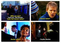 The XV Doctor remembers...