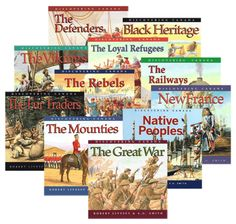 Discovering Canada Series Bundle of 11 Books Curriculum, Homeschool, Discover Canada, The Loyal, Canadian History, Gifted Education, Geography, Literature, Books