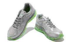 brand new c9690 4c32d Faible Fret pour le pas cher Nike Air Max 2012 Netty Vert Gris Chaussures  De Course la vente en ligne.
