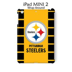 5f24efee258 Pittsburgh Steelers iPad Mini 2 Case Cover Wrap Around