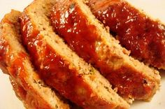 Glazed Meatloaf   This is the best meatloaf ever! It takes a little more work but is so worth it!