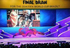 Copa do Mundo 2014 – Brasil cai em grupo tranquilo na Copa. Estreia é contra a Croácia  Abertura da competição está marcada para o dia 12 de junho na Arena Corinthians