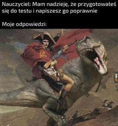Haha Funny, Funny Memes, Hilarious, Funny Lyrics, Polish Memes, Past Tens, Aesthetic Memes, Quality Memes, History Memes