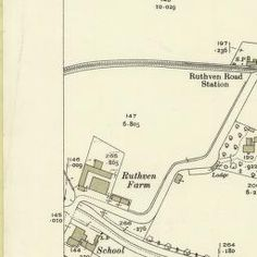 Huntingtower Ordnance Survey 25-inch 1930