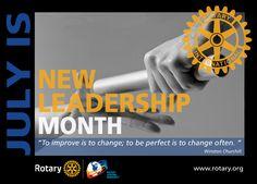 Rotary New Leadership Month 2016-2017 - by CMC Rotary, Leadership, Social Media, Image, Social Networks, Social Media Tips