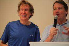 Blue Ridge Marathon award Ceremony with Bill Rodgers - Running Legend.