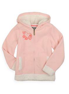 Pumpkin Patch - sweat - faux fur lined hooded sweat - W2GL20018X - blossom - 5 to 11