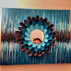 15 DIY plastic spoons craft ideas - live DIY DIY plastic spoons of craft ideasDragonfly Plastic Spoon Mirror, Plastic Spoon Crafts, Plastic Spoons, Plastic Silverware, Plastic Bags, Diy Projects To Try, Craft Projects, Craft Ideas, Diy Ideas