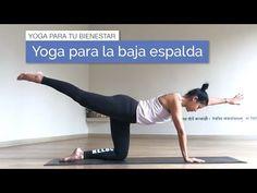 Yoga para el dolor en la espalda baja - YouTube