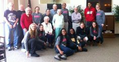 The Marauder women's basketball team visited Oak Leaf Manor in Millersville on Friday, March 28 to spend an afternoon with the elderly.
