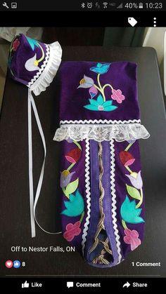 Native American Baby, Native American Regalia, Native American Crafts, Native American Beadwork, Native Beading Patterns, Beadwork Designs, Native Beadwork, Bead Loom Patterns, Sewing Crafts