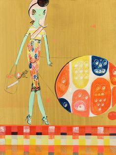 Sponsored  by Kelly Tunstall & Ferris Plock  Acrylic on Panel