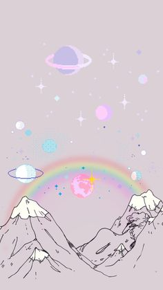 55 New Ideas Aesthetic Wallpaper Pastel Iphone Wallpaper Iphone Pastell, Pastel Iphone Wallpaper, Kawaii Wallpaper, Galaxy Wallpaper, Wallpaper Rainbow, Pastel Lockscreen, Cute Pastel Wallpaper, Iphone Wallpaper Vintage Retro, Outer Space Wallpaper