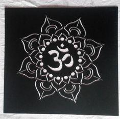 om symbol aum ohm hand drawn detailed vector