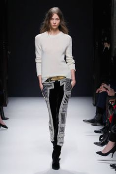 BALMAIN FEMME 2012-13 AW COLLECTION
