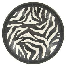 Bag-of-Chips Zebra Dessert Plates | Shop Hobby Lobby
