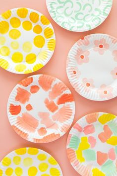 diy paper plate basket tutorial