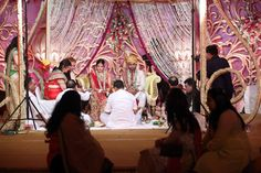 The Mandap decoration