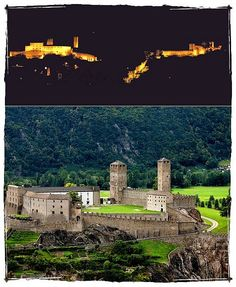 Bellinzona Castles Country Wedding: Italian Lakes Wedding Planner is a company which specializes in organizing events in the wonderful setting of Lake Maggiore. Canton Ticino, Italian Lakes, Sky Sea, Beautiful Places, Simply Beautiful, Fortification, Italy Wedding, Alps, Milan