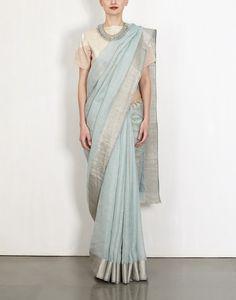 Stone Linen Sari-Anavila- img3