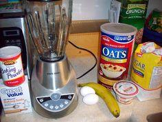 Jess Writes Here: Banana Oatmeal Muffins