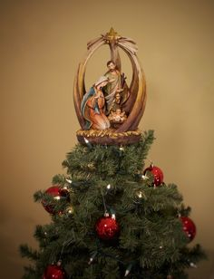 Unique Christmas Tree Topper - Holy Family - Summit Arbor