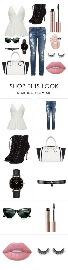 """""""casual days"""" by rnieass on Polyvore featuring Tommy Hilfiger, Furla, Topshop, Fallon, Lime Crime and Viktor & Rolf"""