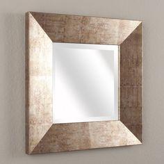 Dekoria,+Zrkadlo+Lion+48+x+48+cm+hnedo+-+zlatý+rám