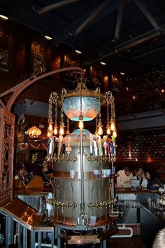 Guzzlepipes And Guttyworks Steampunk Restaraunt In Jacksonville Florida
