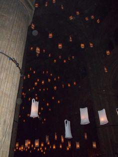 Durham Cathedral, Lumiere, Durham, UK