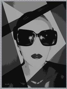 """Lemona Black"", grafika cyfrowa/digital collage - A2 http://pl.dawanda.com/product/67128467-Lemona-Black-grafika-cyfrowa---A2"