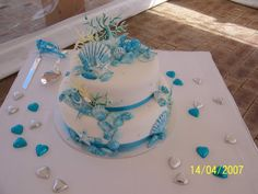 Beachy wedding Cakes | Weddings, Babies and Life in General > Cheap wedding cakes in perth