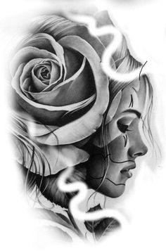 Arm Tattoos Drawing, Chicano Art Tattoos, Chicano Drawings, Tatuajes Tattoos, Tattoo Design Drawings, Tattoo Designs Men, Face Tattoos For Women, Neck Tattoo For Guys, Rose Tattoo Forearm